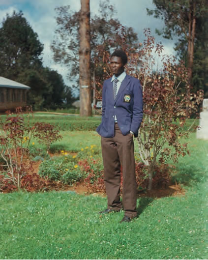 "The Candidate at Njiiri's High School, Murang'a, where he completed his ""A"" Levels and served as the Deputy School Captain."