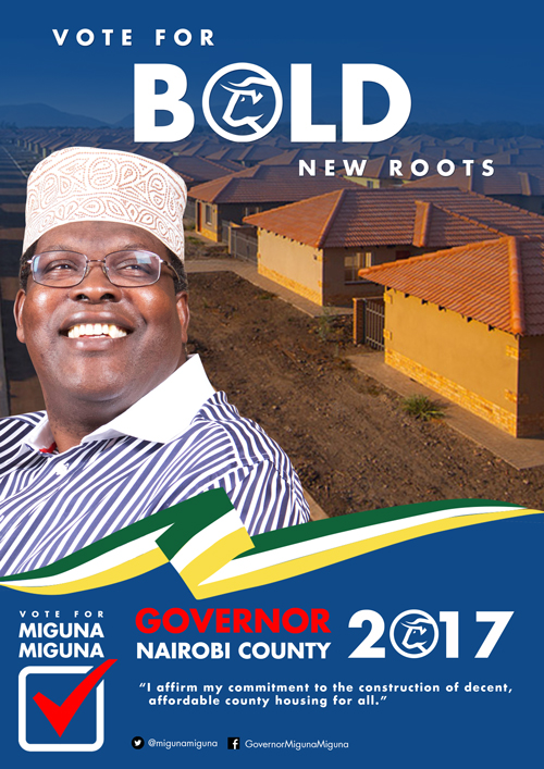 Jobs, jobs, jobs and housing for Nairobians.