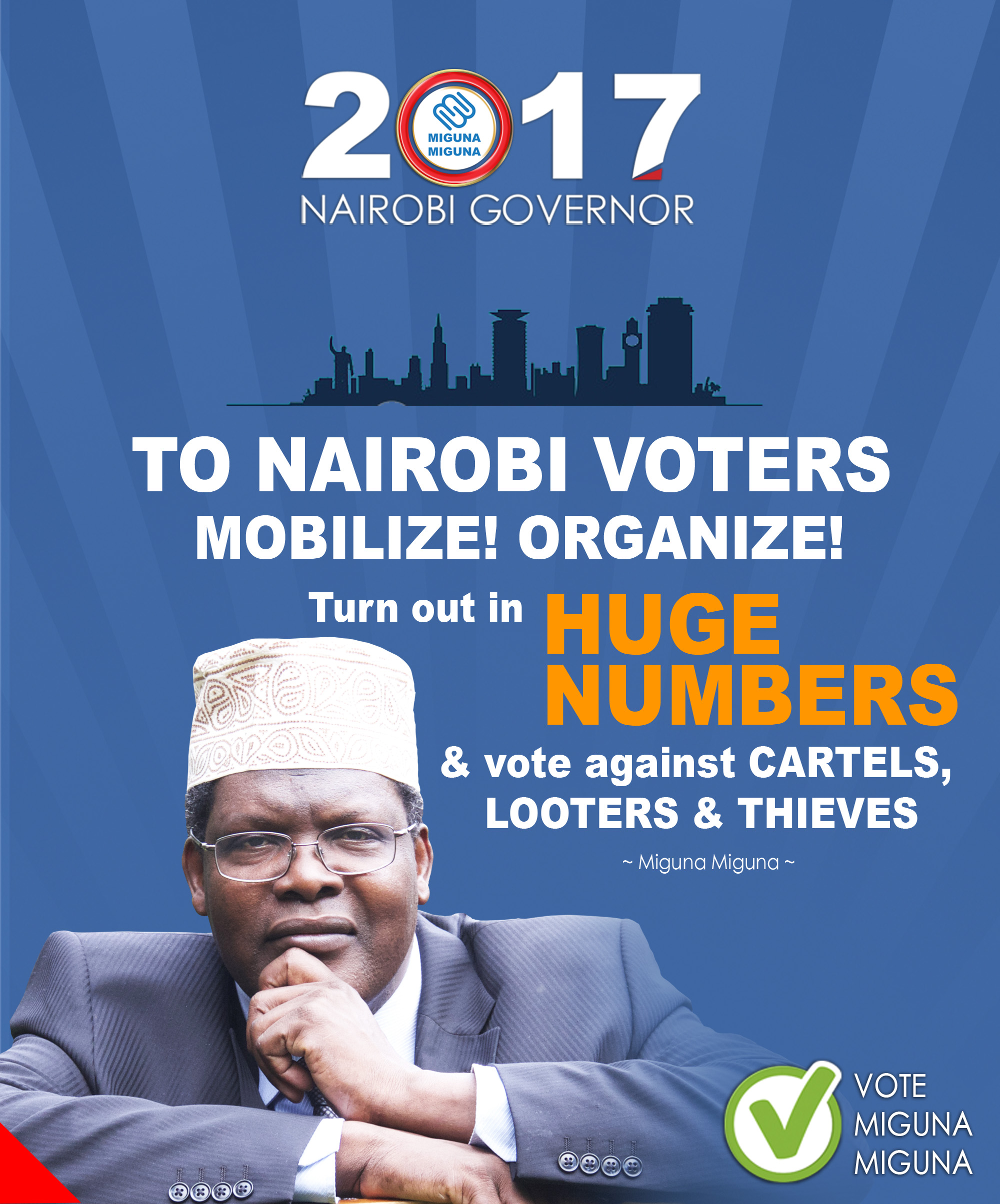 Nairobi voters, mobilize!