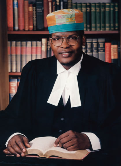 On the day The Candidate was called to the Ontario Bar as a Barrister and Solicitor: 16 February 1995.