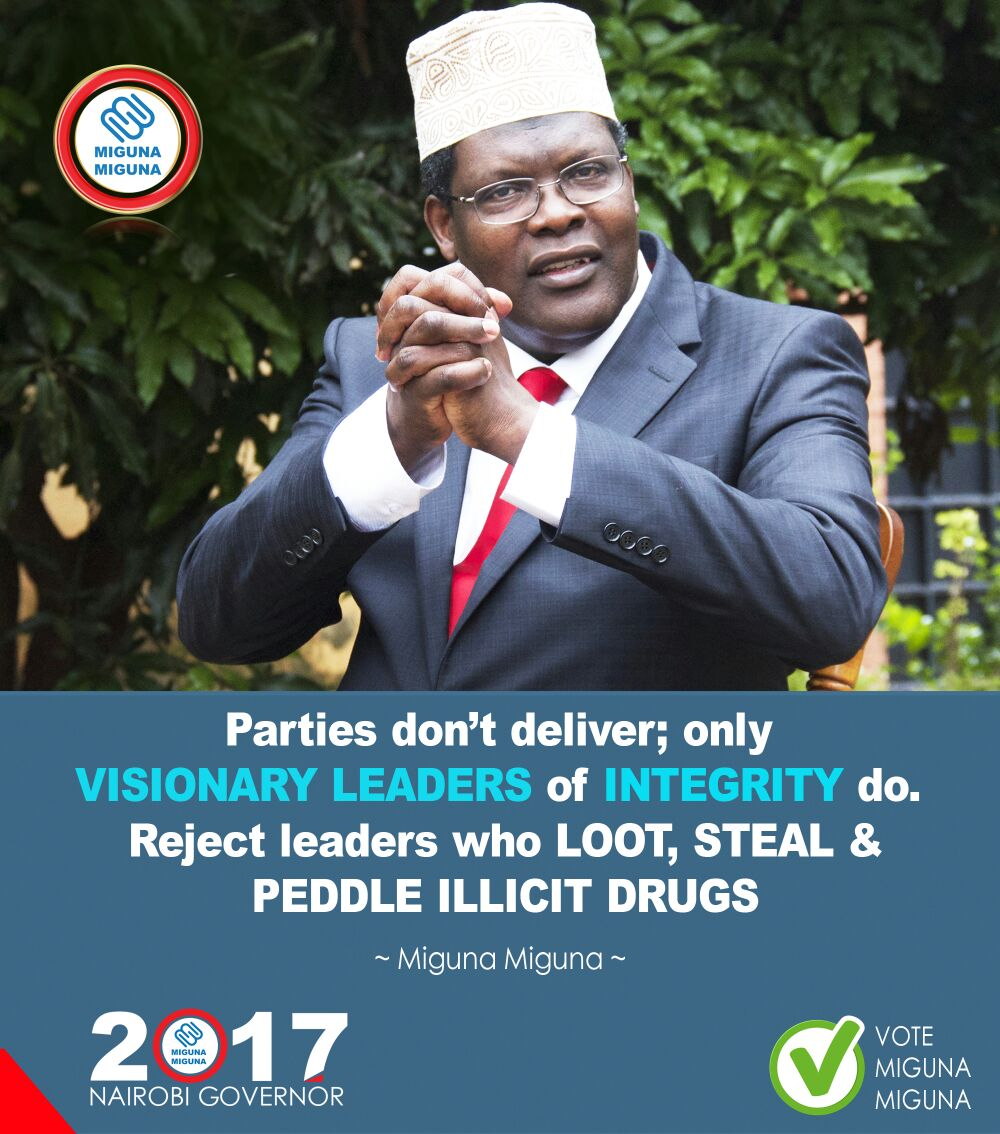 Parties don't deliver, only leaders of integrity do.
