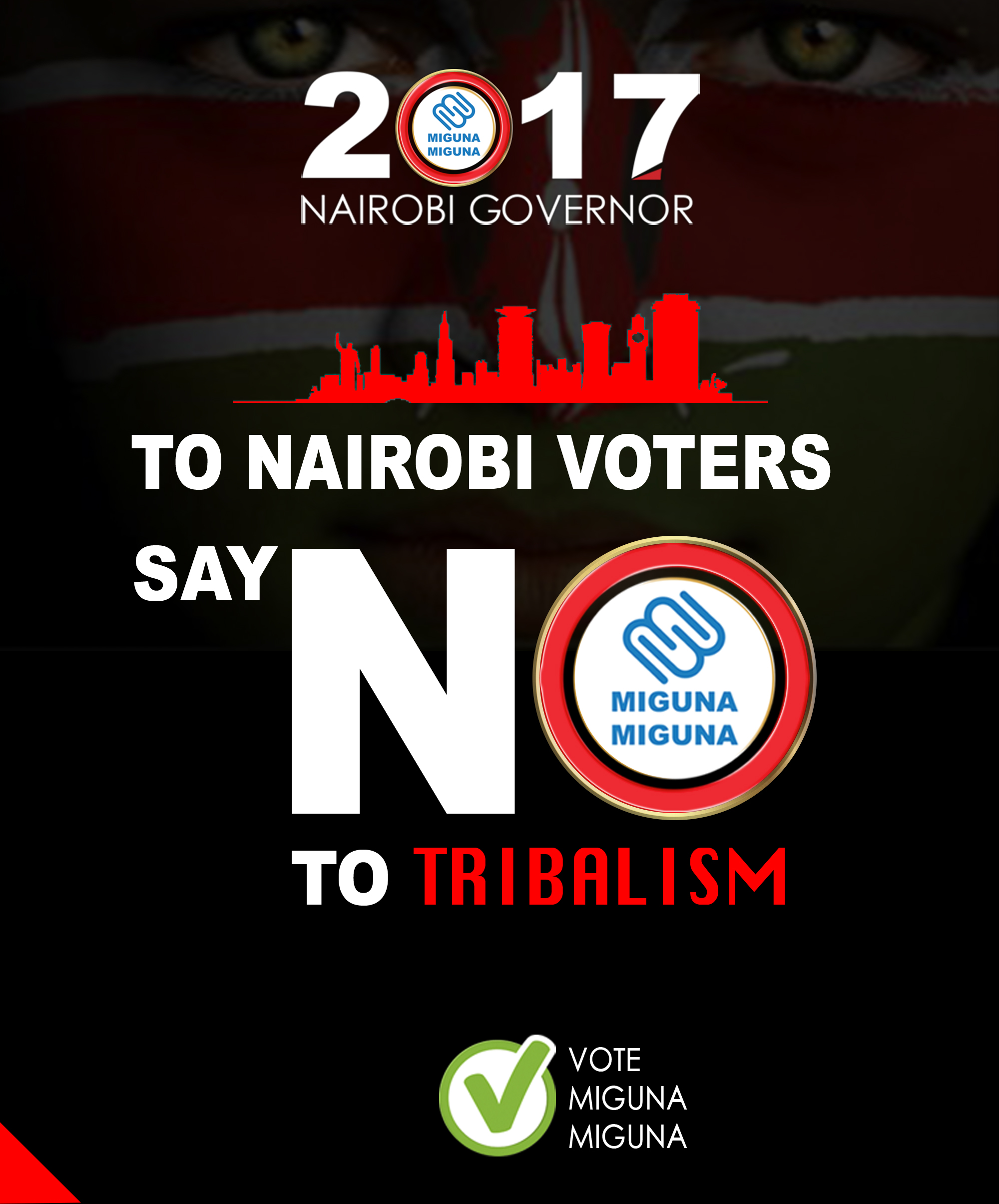 Say NO to tribalism.