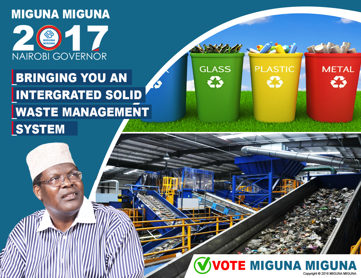 Bringing you an intergrated solid waste management system.