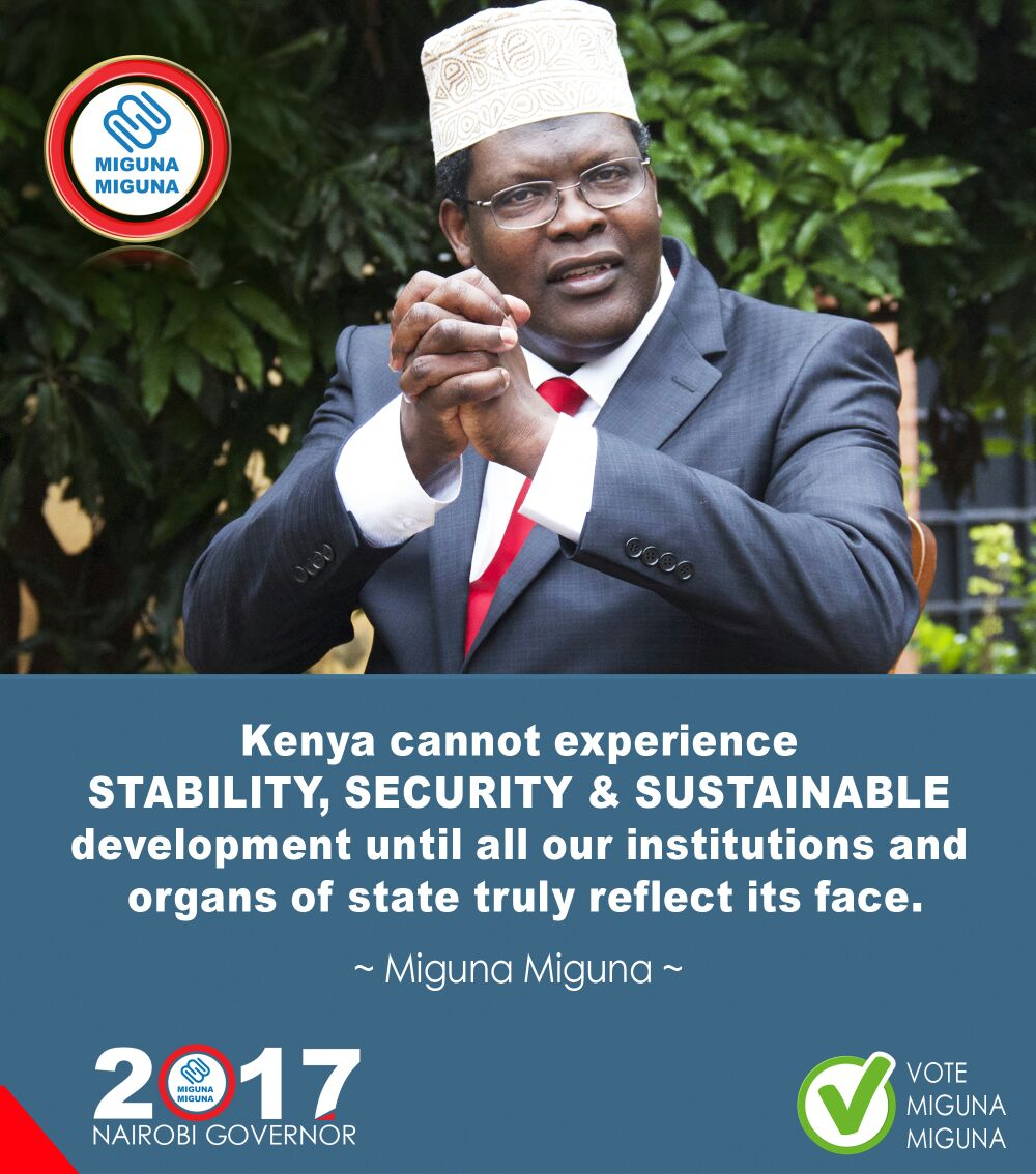 Stability, security & sustainable development.