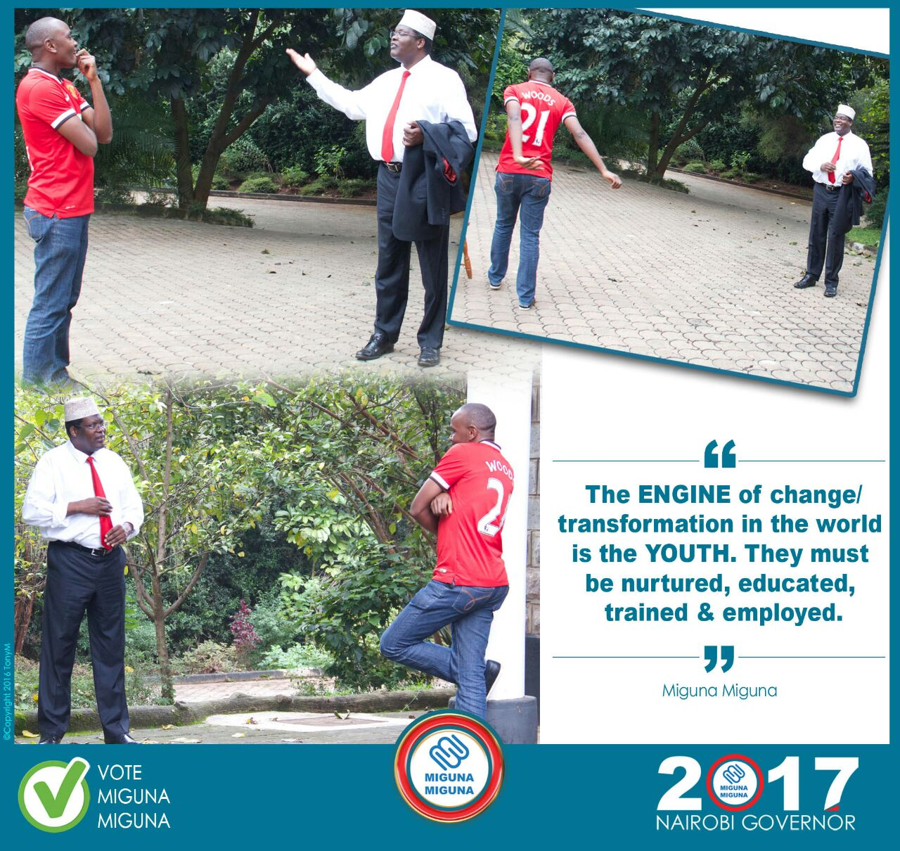 The future of the Nairobi youth is secure.