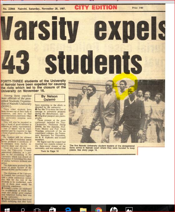 Varsity expells 43, Nov 28, 1987