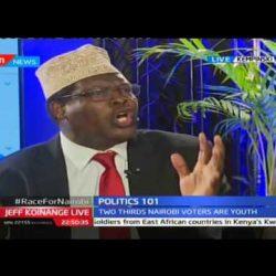 2nd Nairobi Gubernatorial Debate on KTN's JKL on November 16, 2016, Part 2