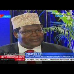 2nd Nairobi Gubernatorial Debate on KTN's JKL on November 16, 2016, Part 1