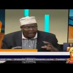 Miguna Miguna on JKLive.  April 26, 2017,  Part 1