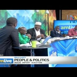Miguna Miguna on NTV amlive. May 16, 2017